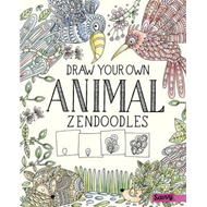 Draw Your Own Animal Zendoodles (BOK)