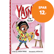Produktbilde for Yasmin the Painter (BOK)