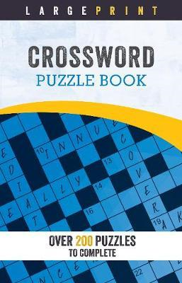 Large Print Crossword Puzzle Book (BOK)