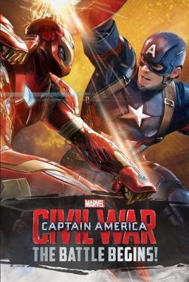 Marvel Captain America Civil War The Battle Begins! (BOK)