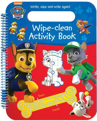 Nickelodeon PAW Patrol Wipe-Clean Activity Book (BOK)