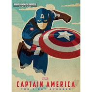 Marvel Captain America The First Avenger (BOK)