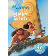 Disney Moana Sticker Scenes (BOK)