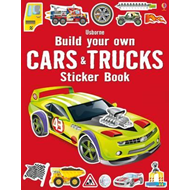 Build Your Own Cars and Trucks Sticker Book (BOK)