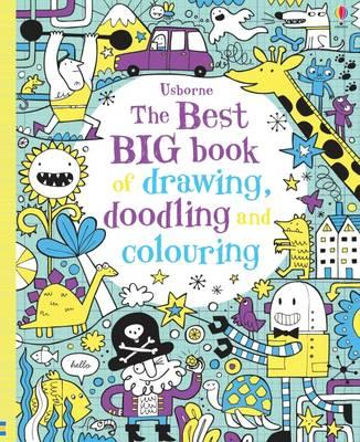 Best Big Book of Drawing, Doodling & Colouring (BOK)