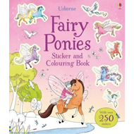 Fairy Ponies Sticker and Colouring Book (BOK)