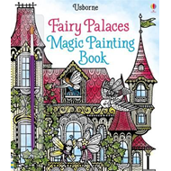 Fairy Palaces Magic Painting Book (BOK)