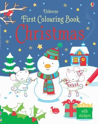 First Colouring Book Christmas (BOK)