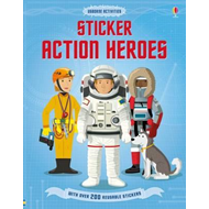 Produktbilde for Sticker Dressing Action Heroes (BOK)