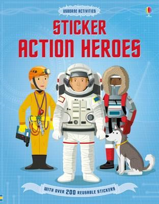 Sticker Dressing Action Heroes (BOK)