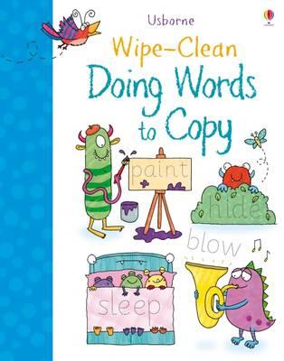Wipe-Clean Doing Words to Copy (BOK)