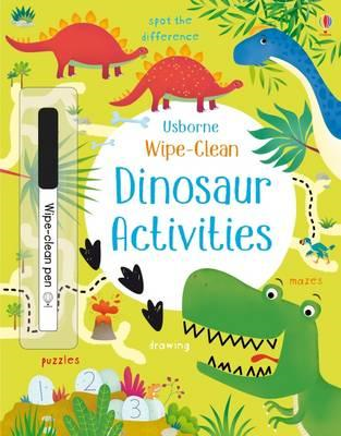 Wipe-Clean Dinosaur Activities (BOK)