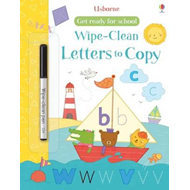 Get Ready for School Wipe-Clean Letters to Copy (BOK)