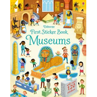 First Sticker Book Museums (BOK)