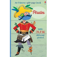 Produktbilde for Split Page Books - Pirates (BOK)