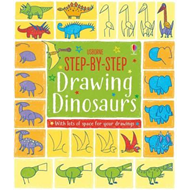Produktbilde for Step-by-Step Drawing Book Dinosaurs (BOK)