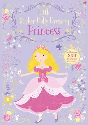 Little Sticker Dolly Dressing Princess (BOK)