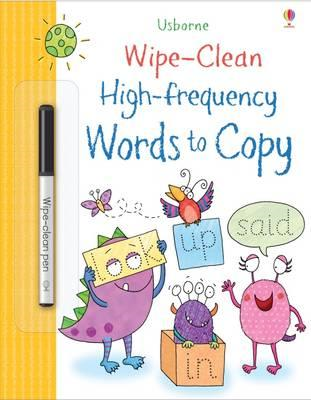Wipe-Clean High-Frequency Words to Copy (BOK)
