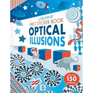 Produktbilde for First Sticker Book Optical Illusions (BOK)