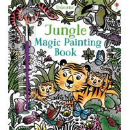 Produktbilde for Jungle Magic Painting Book (BOK)