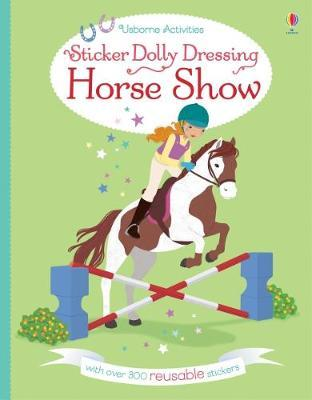 Sticker Dolly Dressing Horse Show (BOK)