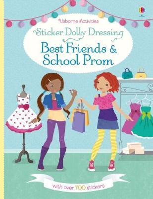Sticker Dolly Dressing Best Friends and School Prom (BOK)