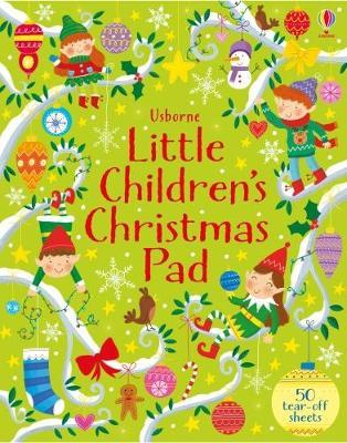 Little Children's Christmas Activity Pad (BOK)