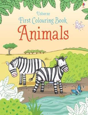First Colouring Book Animals (BOK)