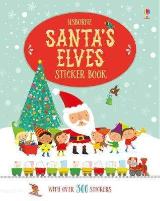 Santa's Elves Sticker Book (BOK)