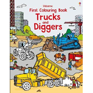 First Colouring Book Trucks and Diggers (BOK)