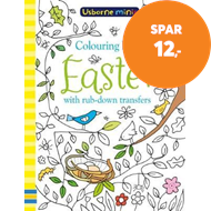 Produktbilde for Colouring Book Easter with Rub Downs (BOK)