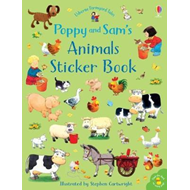 Produktbilde for Poppy and Sam's Animals Sticker Book (BOK)