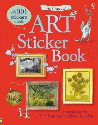 Art Sticker Book (BOK)