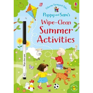 Produktbilde for Poppy and Sam's Wipe-Clean Summer Activities (BOK)