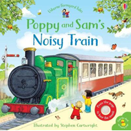 Produktbilde for Poppy and Sam's Noisy Train Book (BOK)