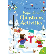 Produktbilde for Poppy and Sam's Wipe-Clean Christmas Activities (BOK)