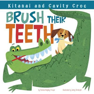 Kitanai and Cavity Croc Brush Their Teeth (BOK)