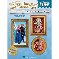 Recorder Fun Songs from Frozen, Tangled and Enchanted (BOK)