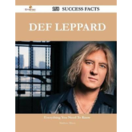 Def Leppard 158 Success Facts - Everything You Need to Know (BOK)