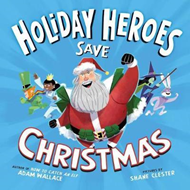 Produktbilde for Holiday Heroes Save Christmas (BOK)