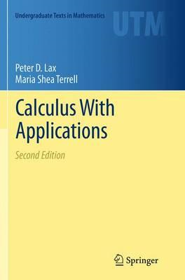 Calculus With Applications (BOK)