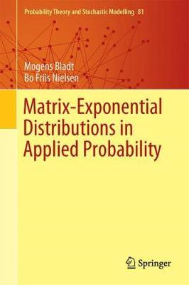 Matrix-Exponential Distributions in Applied Probability (BOK)