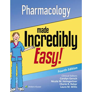 Pharmacology Made Incredibly Easy (BOK)