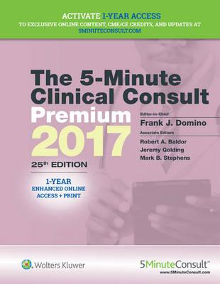 5-Minute Clinical Consult Premium 2017 (BOK)