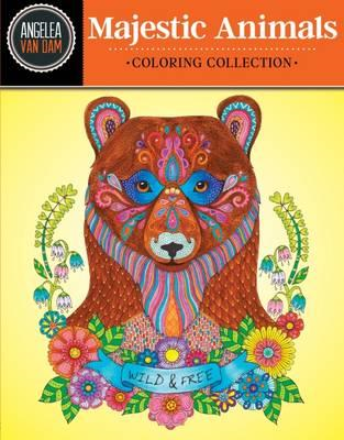 Hello Angel Majestic Animals Coloring Collection (BOK)