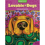 Lovable Dogs Coloring Book (BOK)