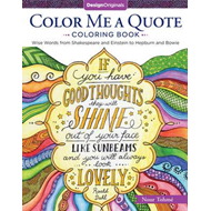 Color Me a Quote Coloring Book (BOK)