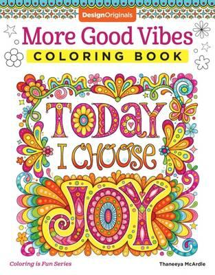 More Good Vibes Coloring Book (BOK)