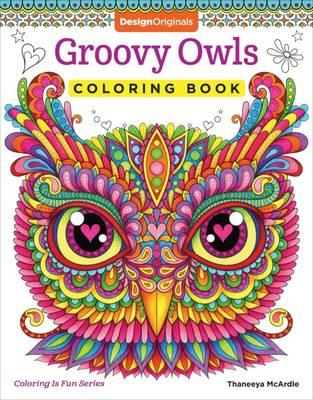 Groovy Owls Coloring Book (BOK)