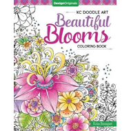 KC Doodle Art Beautiful Blooms Coloring Book (BOK)